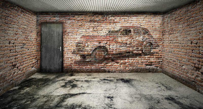 Home garage space