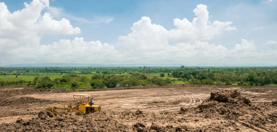 land area adjustment